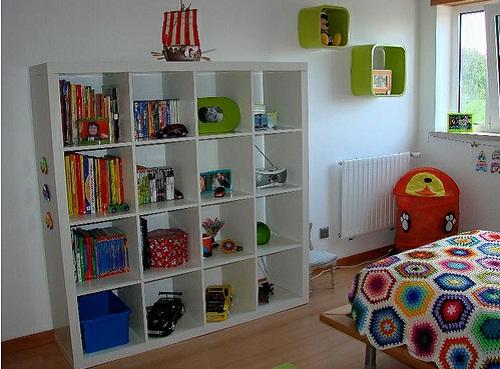 Estantes Para Quarto De Brinquedos ~   quartos t?o bonitos quanto os das fotos com modelos de estantes