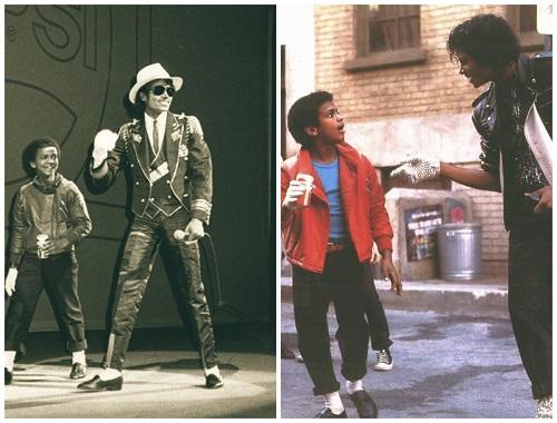 Alfonso Ribeiro e Michael Jackson