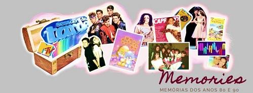 layout capa - Memories