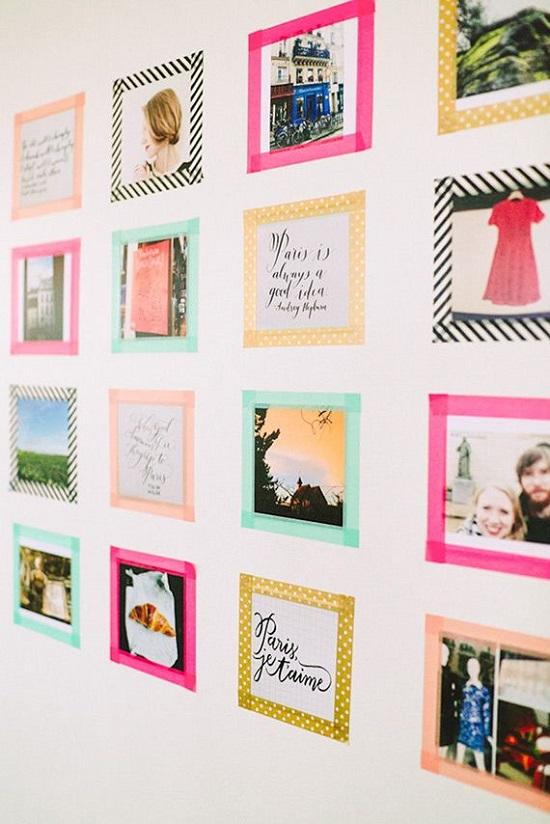 Inspirações para decorar paredes com fotos